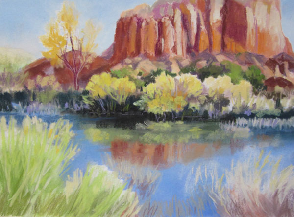 Ghost Ranch Pond, November