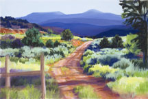 Ranch Road in Summer