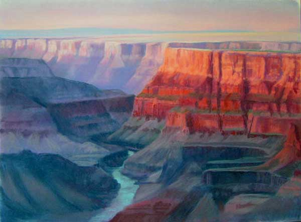 Evening, Desert View, Grand Canyon
